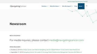 21st Century Oncology Patient Portal