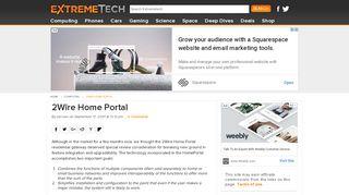 2wire Portal