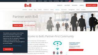 8×8 Partner Portal