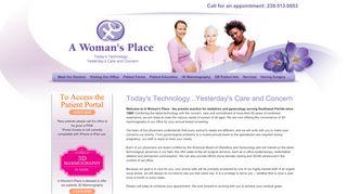A Woman's Place Naples Fl Patient Portal