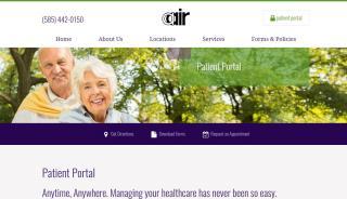 Aair Patient Portal