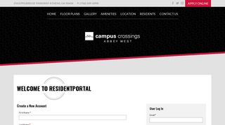 Abbey West Resident Portal