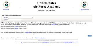Academy Admissions Portal