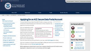 Ace Portal Application
