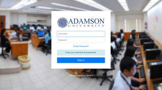 Adamson E Learning Parent Portal