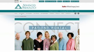 Advanced Radiology Patient Portal