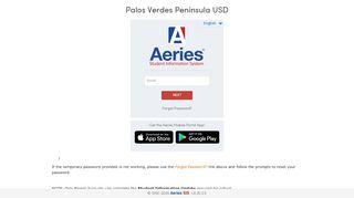 Aeries Pvpusd Parent Portal