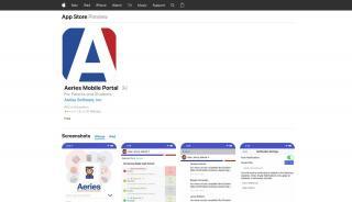 Aeries Student Portal App