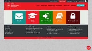 Africa International University Student Portal