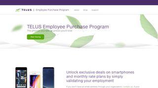 Ahs Telus Employee Purchase Plan Portal