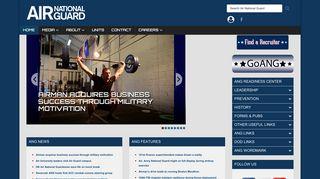 Air National Guard Portal