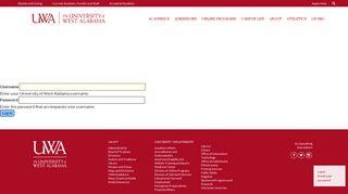 Applicant Portal Uwa