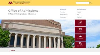 Application Portal Umn