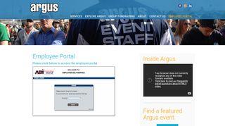 Argus Employee Portal