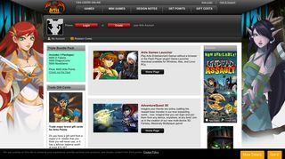 Artix Entertainment Portal Site