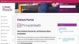 Aspire Harrisburg Patient Portal