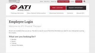 Ati Employee Portal