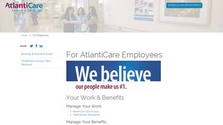 Atlanticare Employee Portal