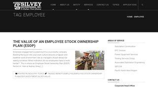Aubrey Silvey Employee Portal