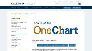 Aultman Patient Portal