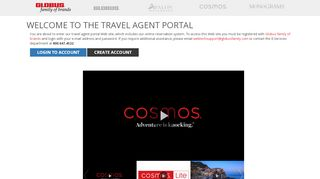 Avalon Travel Agent Portal