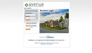 Avenue Leasing Tenant Portal