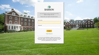 Babson College Portal
