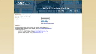Bankers Agent Portal