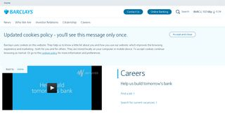 Barclays Bank Career Portal