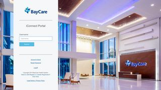 Baycare Iconnect Secure Portal