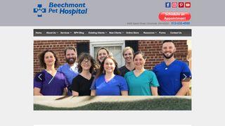 Beechmont Pet Hospital Pet Portal