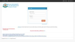 Bells University Portal