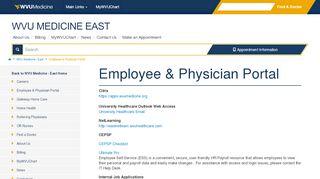 Berkeley Medical Center Employee Portal