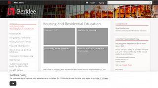 Berklee Housing Portal