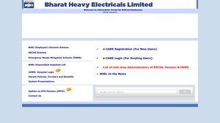 Bhel Employee Portal