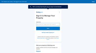 Booking Com Portal