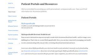 Borgess Patient Portal
