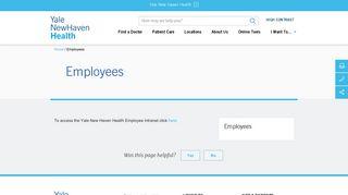 Bridgeport Hospital Employee Portal
