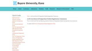 Buk Postgraduate Registration Portal