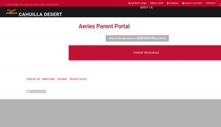Cahuilla Desert Academy Parent Portal