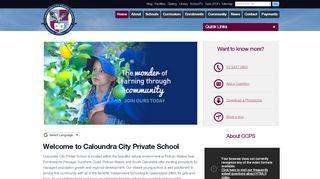 Caloundra City Private School Parent Portal