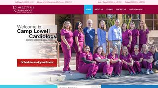 Camp Lowell Cardiology Patient Portal