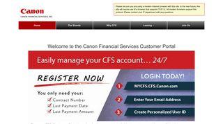 Canon Online Portal
