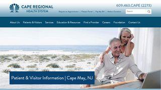 Cape Regional Physicians Patient Portal