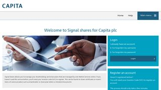 Capita Share Portal