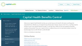 Capital Health Employee Portal