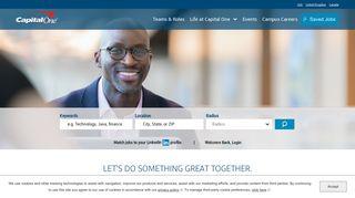 Capital One Employee Portal