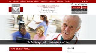 Cardiac Solutions Patient Portal