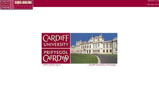 Cardiff University Sims Online Portal