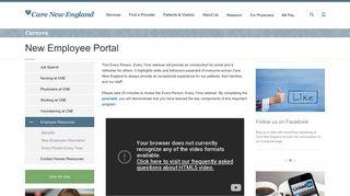 Care New England Employee Portal